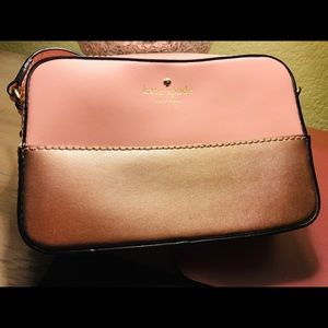 Pink and Gold Kate Spade mini purse